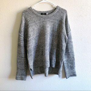 BDG Urban Outfitters • exposed seam gray sweater